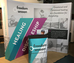 Freedom Session Stand up Display