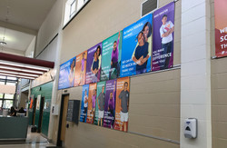 YMCA Donor Wall