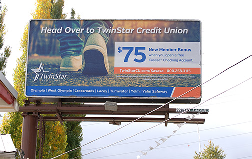 Twin Star CU Billboard