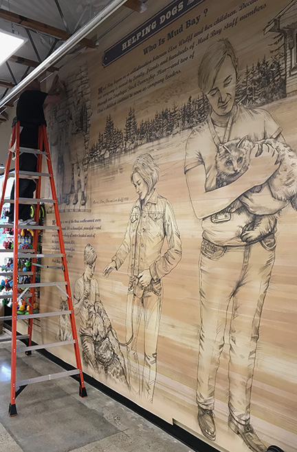 Custom Mural Installation