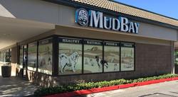 Mud Bay Window Signage