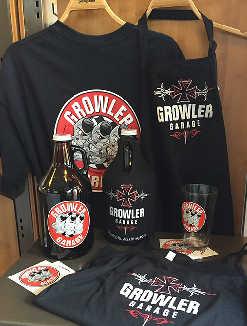 Growler Garage Merchandise