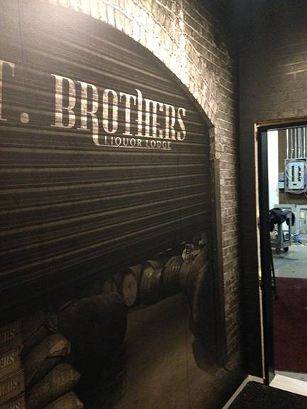 T Brothers Custom Wall Mural
