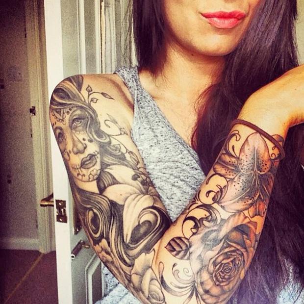 Arm Sleeve Tattoo Girl Bea18c22 Bekhauphindianews Com