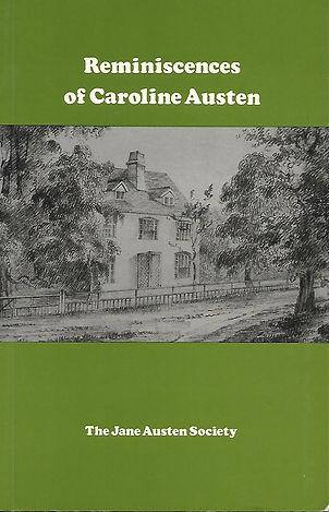 Caroline Austen's Reminiscences.jpg