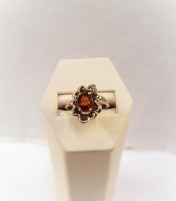 Spessarite Garnet Floral