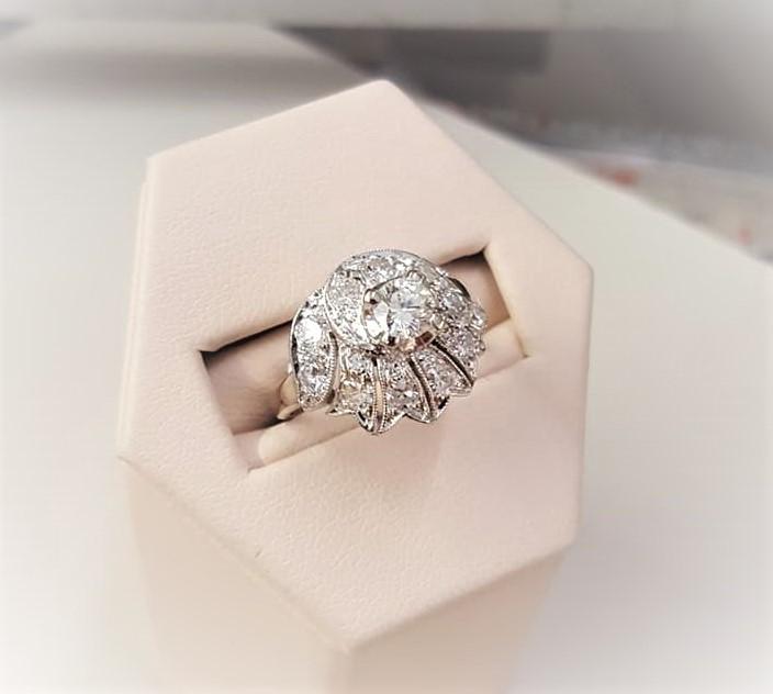 Antique 1.07ctw Diamond