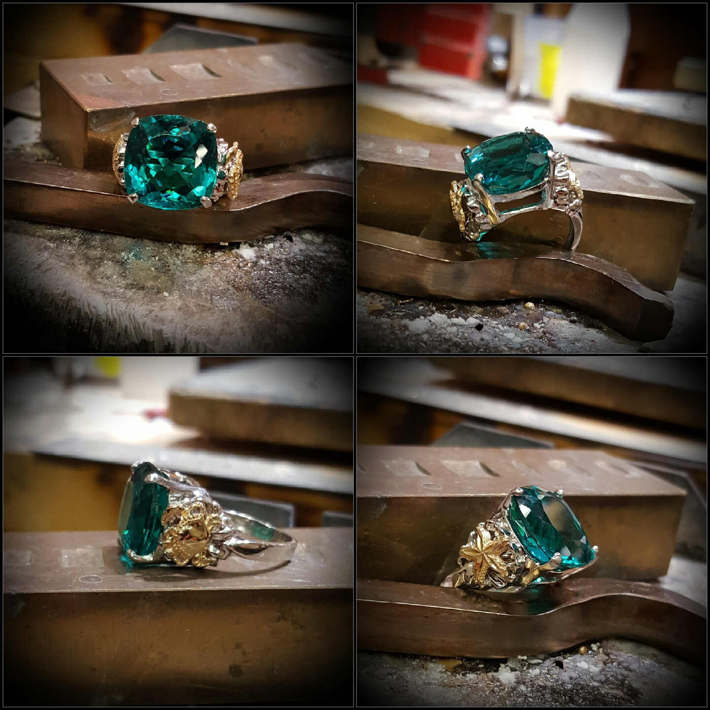 Created Paraiba Colored Tourmaline