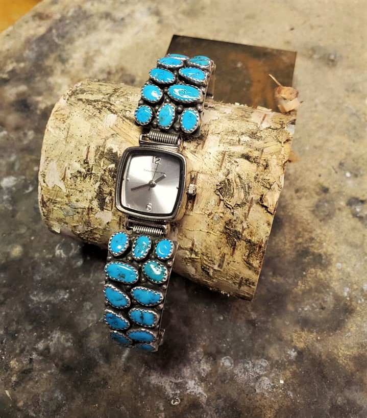 Wilford Nez Turquoise Watch