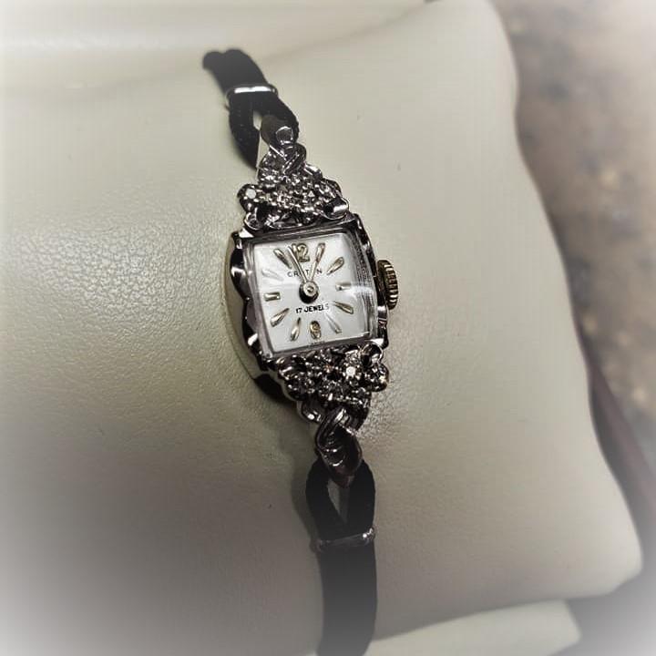 Croton Diamond Watch 17 Jewels
