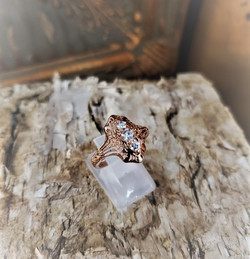 .50cw Diamond Ring 14kt Rose Gold