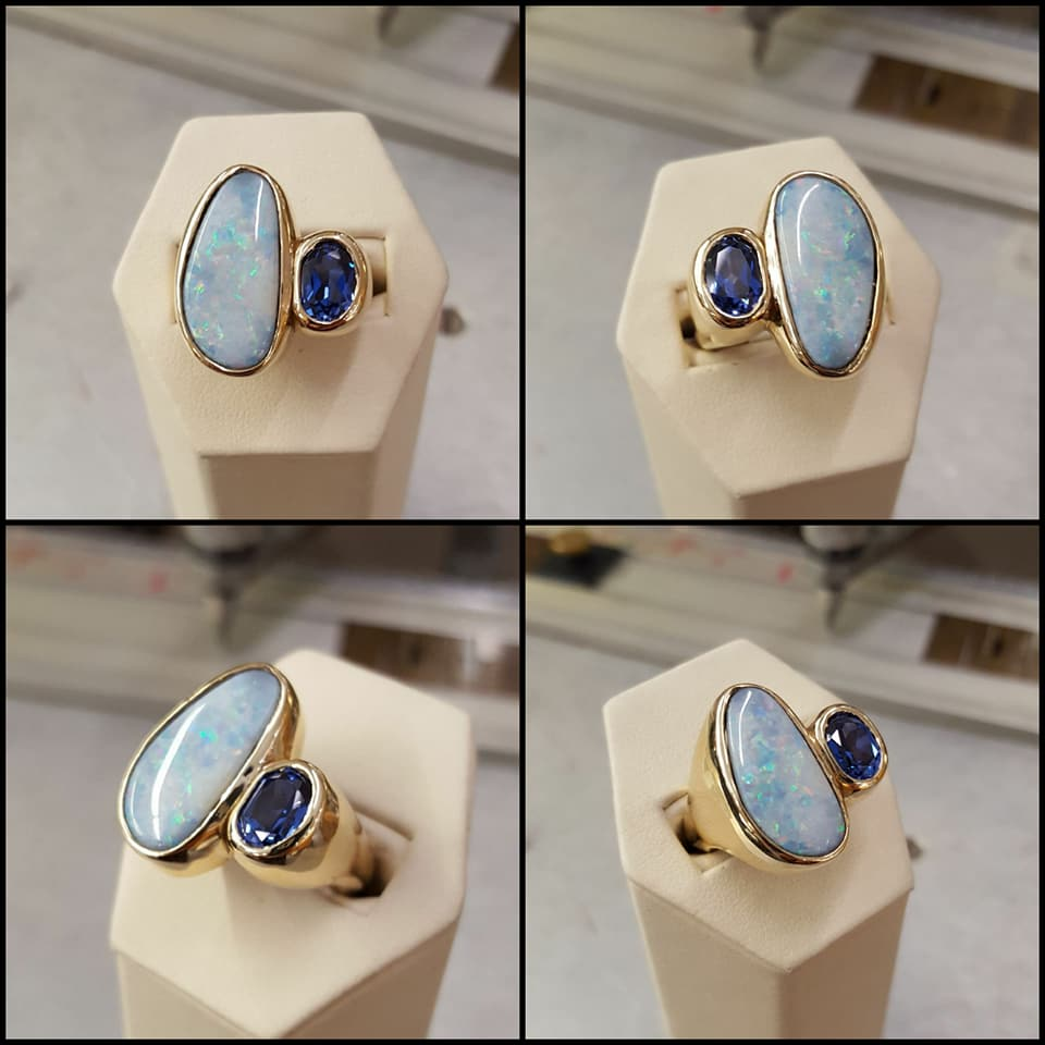 Opal & Sapphire