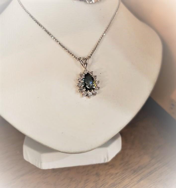 1.50ct Moissanite Diamond Halo