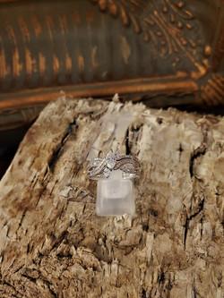 1ctw Diamond Carved Wedding Set
