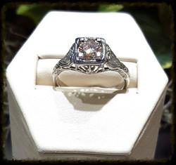 .61ct Diamond Antique Engagement