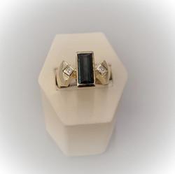 2.61ct Indicolite Tourmaline Diamonds