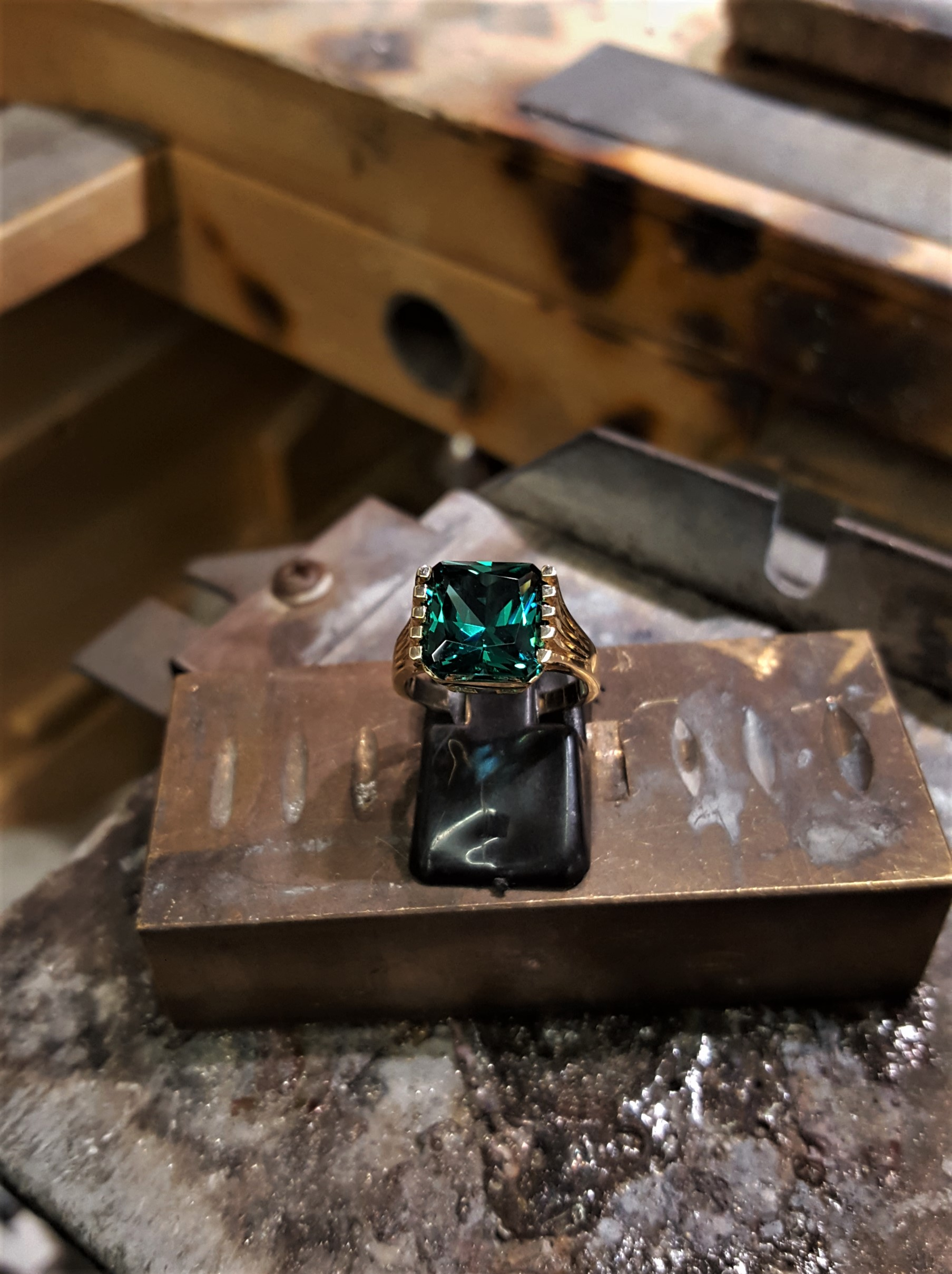 10x9mm Paraiba Colored Tourmaline