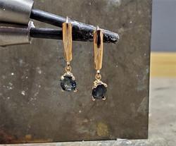1.50ct Sapphire 14kt Rose Gold