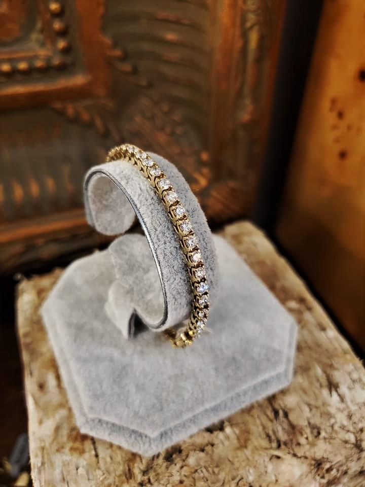 5ctw Diamond Bracelet