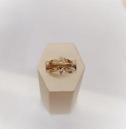 .10ctw Diamond Wedding Jacket