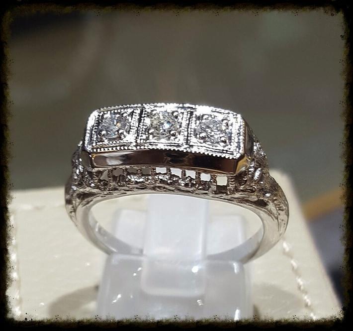 Antique Diamond Filigree