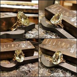 20x13mm Prasiolite Amethyst