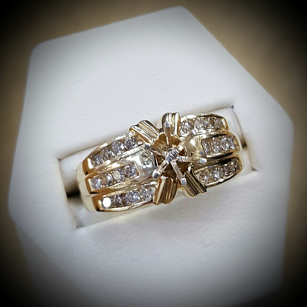 Semi-mount with .60ctw Diamonds