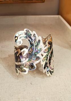 Taxco Mexico Abalone Bracelet