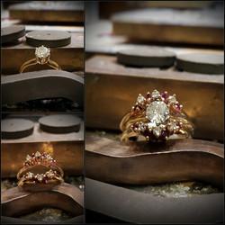 Ruby & Diamond Wedding Jacket