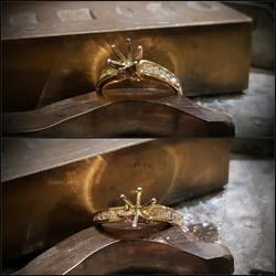 .30ctw Diamond Semi-mount Engagment