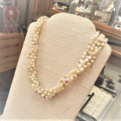 Fresh Water Pearls with Gemstones