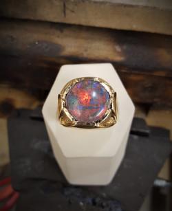 8.63ct Lightning Ridge Black Opal