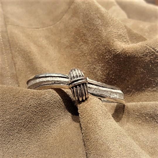 Navajo Tufa Cast Bracelet