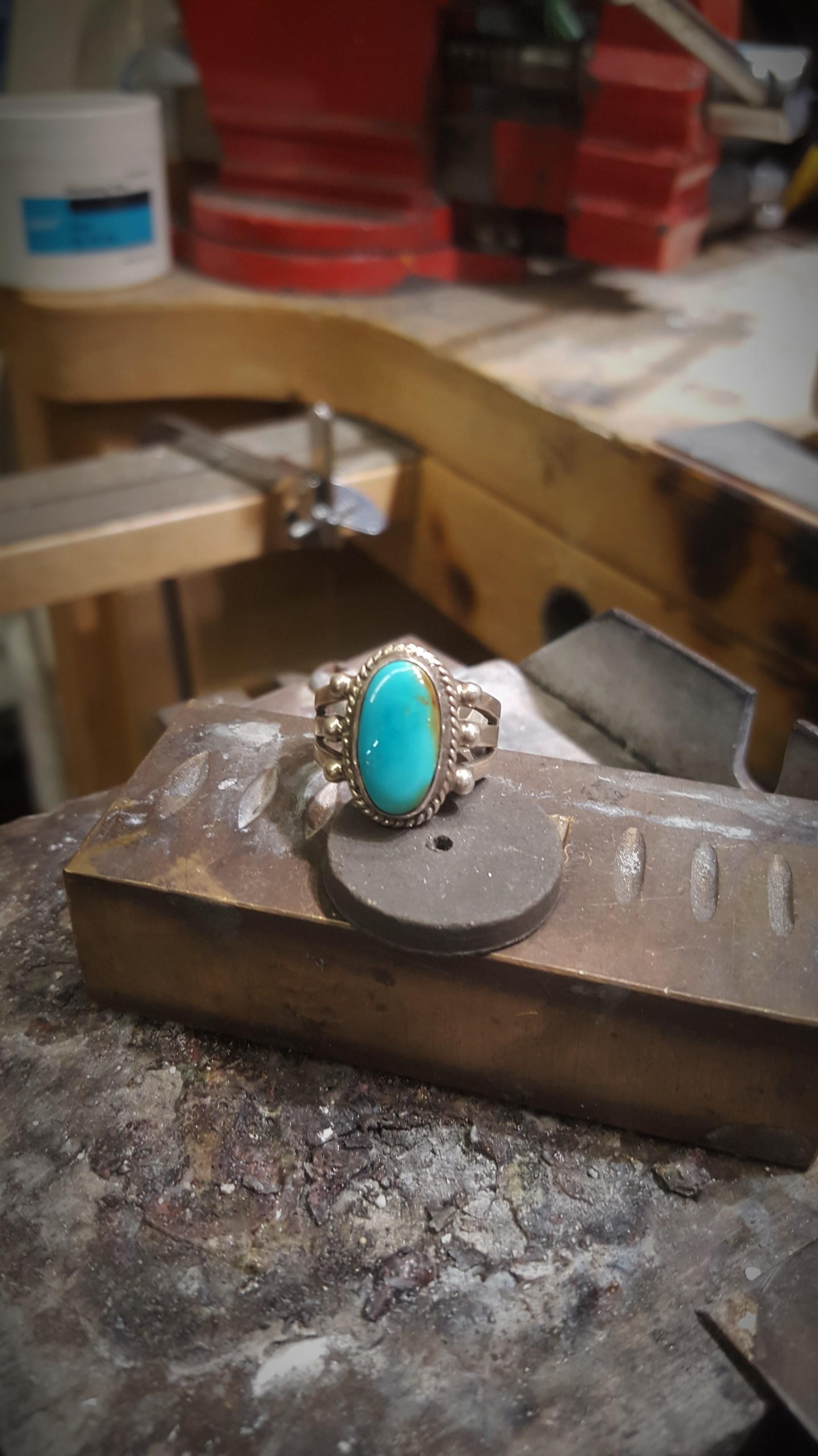 Donovan Cadman Turquoise Ring