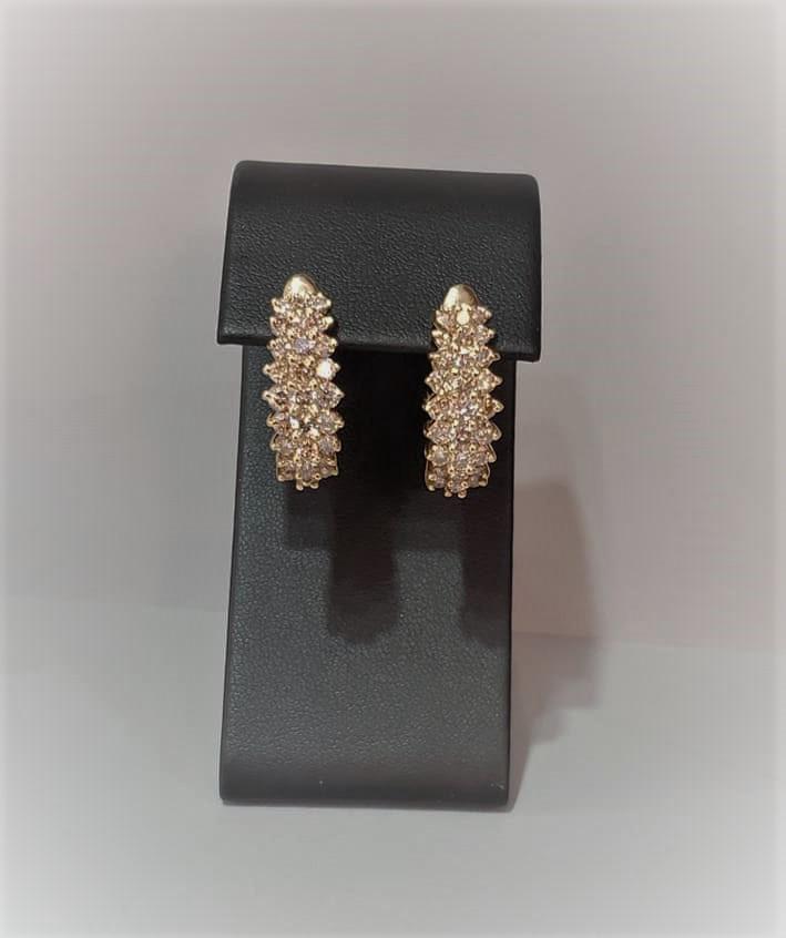 4ctw Diamond Earrings
