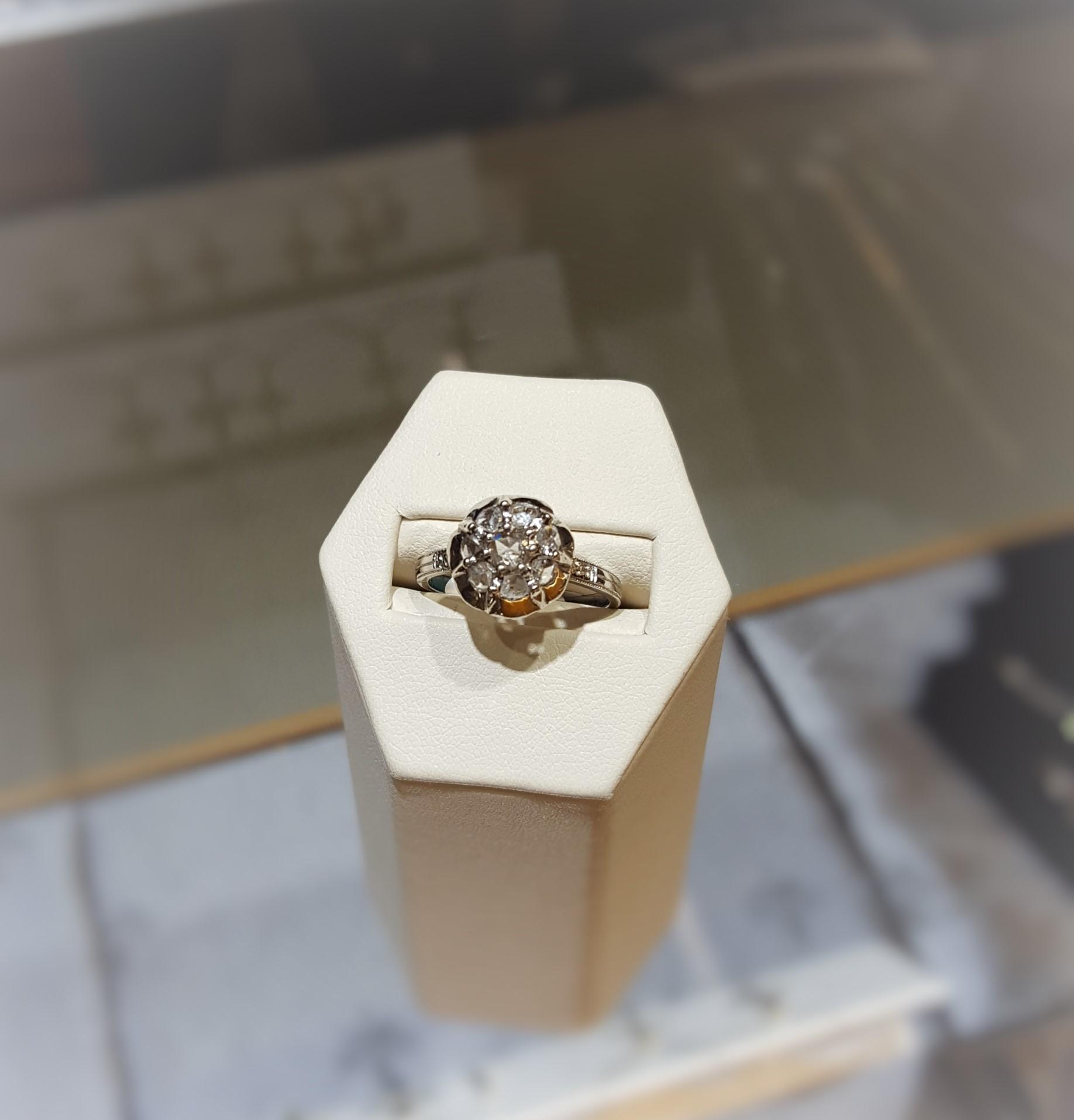 Antique 1890's Diamond Engagement