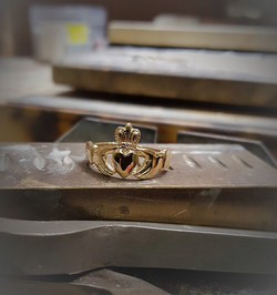 Claddagh 14kt Yellow Gold