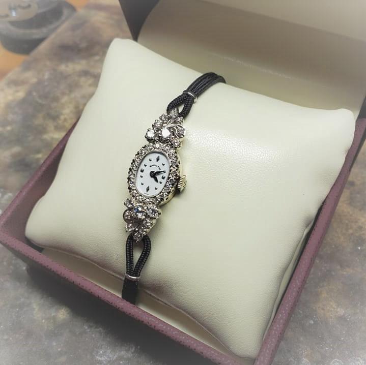 .70ctw Hamilton Diamond Watch