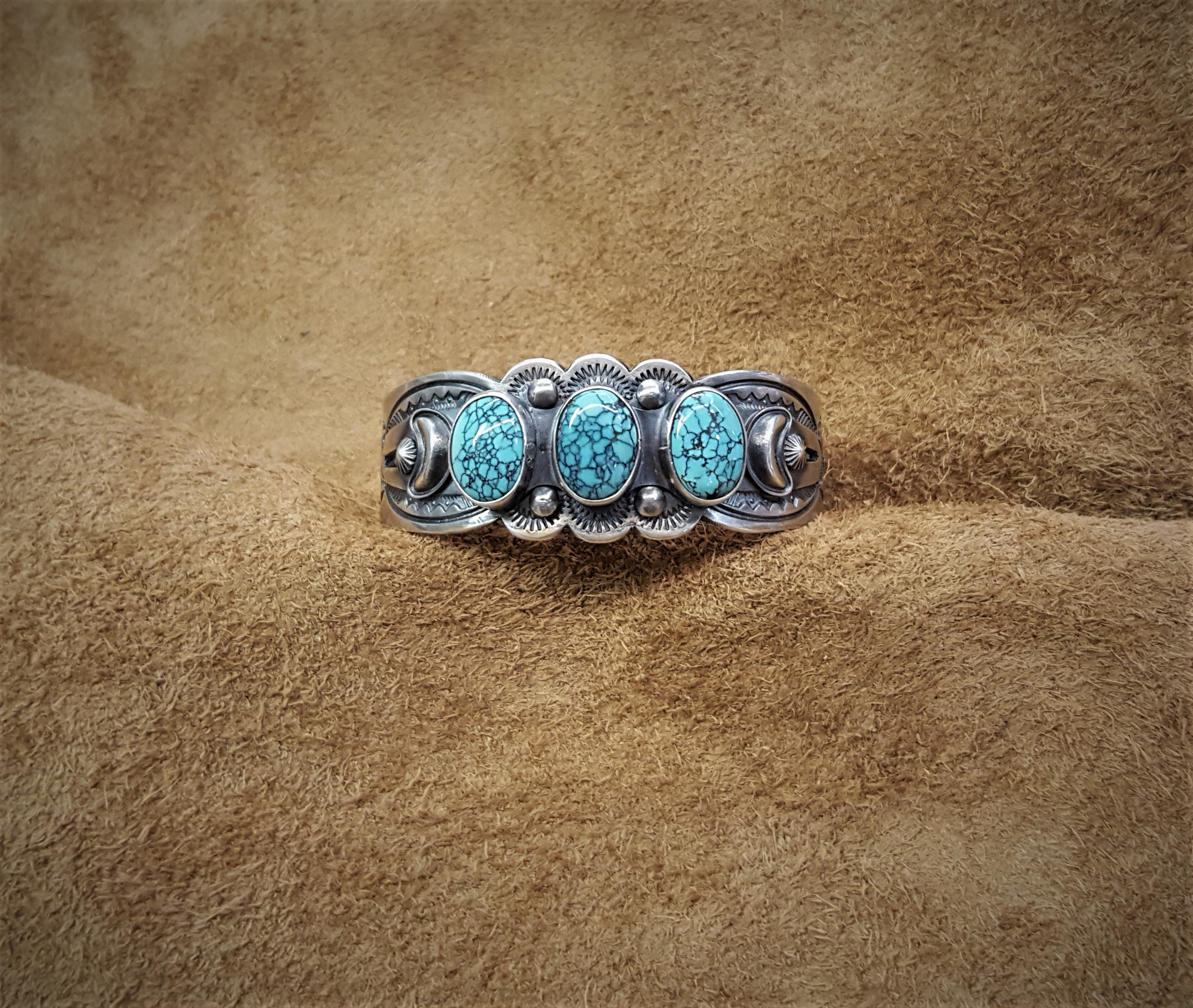 Stanley Parker Navajo Cuff Bracelet