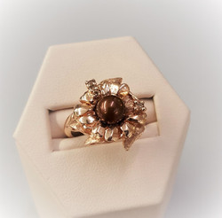 Chocolate Pearl Rose Gold