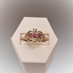 .60ctw Natural Ruby & Diamond