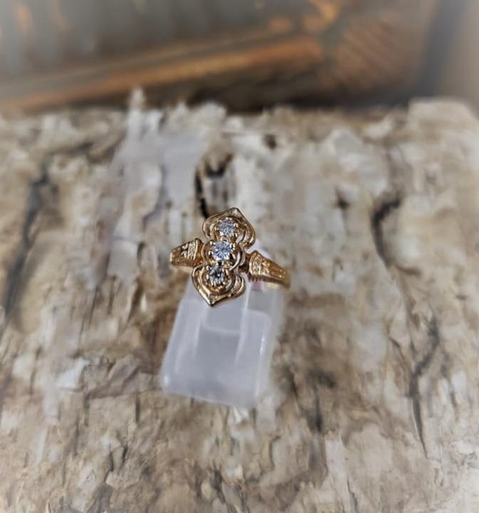 .10ctw Diamond 3-Stone Ring