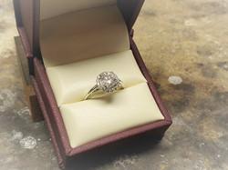 1.39ctw Diamond Engagement Ring