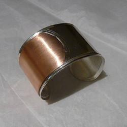 Sterling Silver & Copper Bracelet