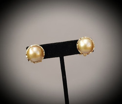 Golden Mabe Pearls