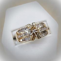 .60ctw Diamond Semi-Mount