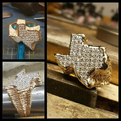 State Of Texas Pave Diamonds