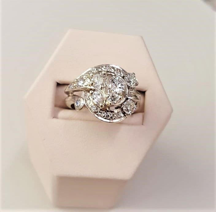 Antique 1.35ctw Diamond