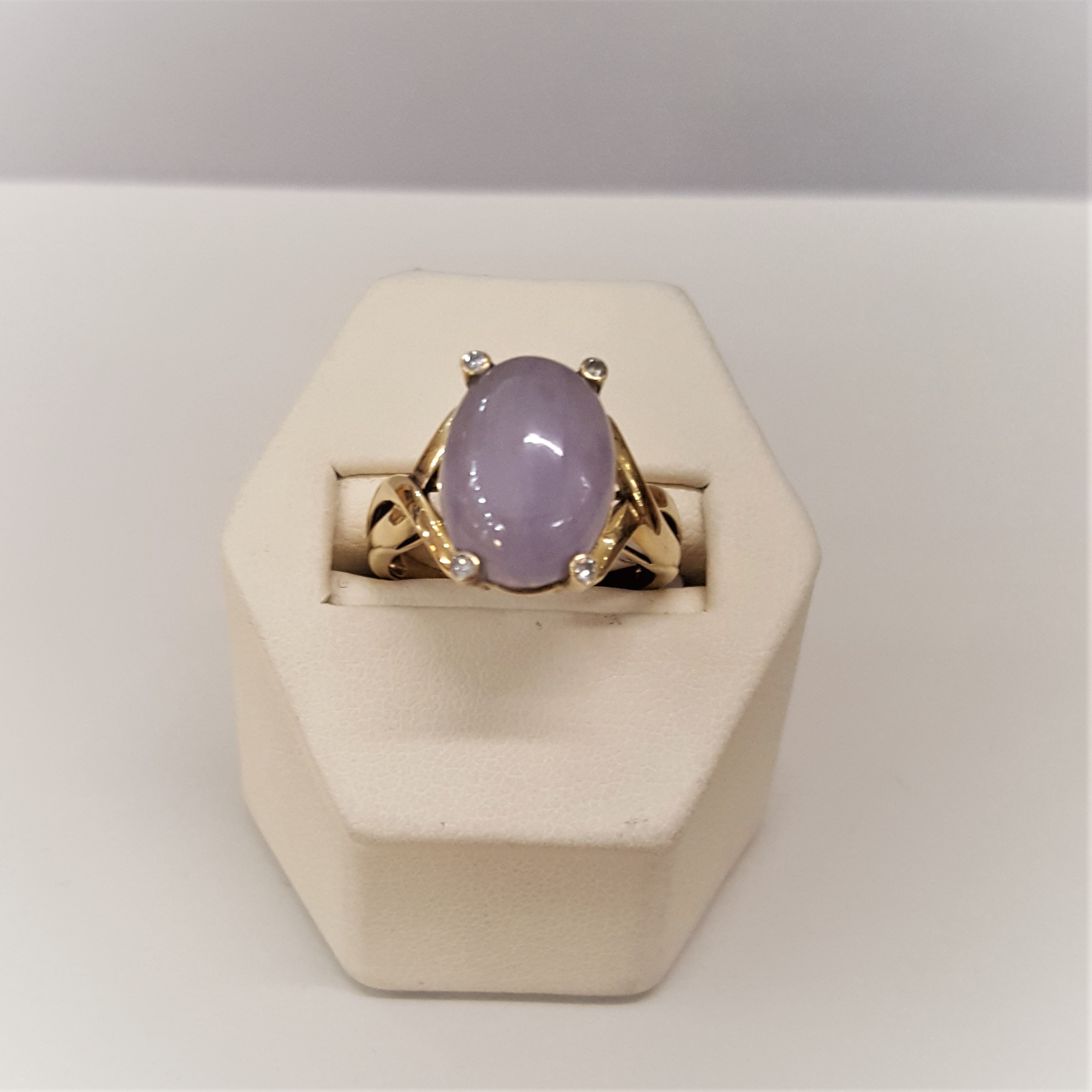 Lavender Jade Diamonds