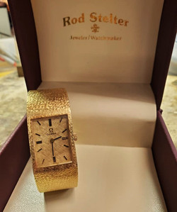 Omega 14kt Yellow Gold Unisex Watch